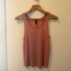 Dusty Rose Pink Tank Top